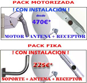 antena motorizada